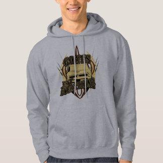 Goats Eat Everything Hooded Sweatshirts