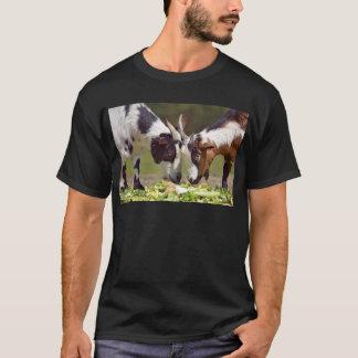 Goats eating vegetable T-Shirt