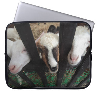 Goats for your laptop laptop sleeve