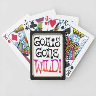 Goats Gone Wild  Bicycle® Playing Bicycle Playing Cards