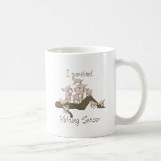 GOATS | I Survived Kidding Season by GetYerGoat Coffee Mug