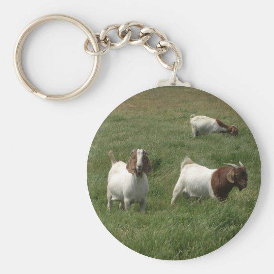 Goats Keychain