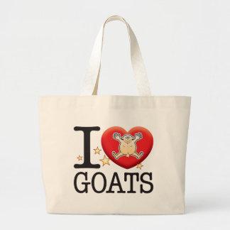 Goats Love Man Jumbo Tote Bag