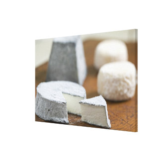 Goat's milk cheeses - Selles-sur-Cher, Canvas Print