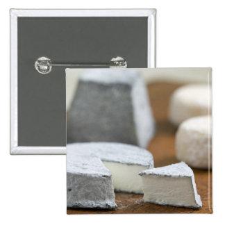 Goat's milk cheeses - Selles-sur-Cher, Pinback Button