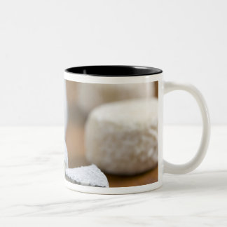 Goat's milk cheeses - Selles-sur-Cher, Two-Tone Coffee Mug
