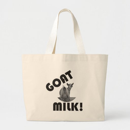 GOAT'S MILK - IT'S THE OTHER DAIRY! CANVAS BAG