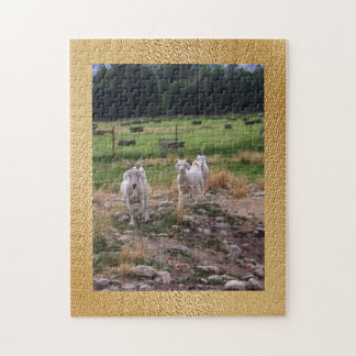Goats 'n Hay Jigsaw Puzzle