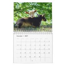 Goats on Grass K-N-S Farm Calendar