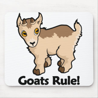 Goats Rule! Mouse Pad