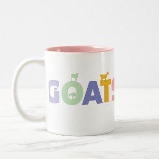GOATS RULE MUG mug