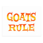 Goats Rule Post Cards