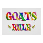 GOATS RULE POSTERS