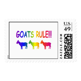 Goats Rule Stamp