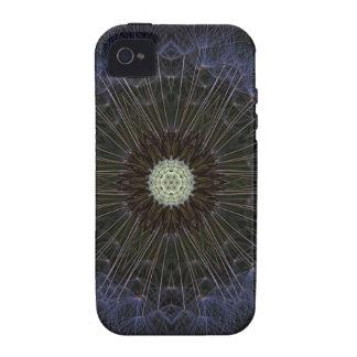 Goatsbeard Wildflower Kaleidoscope Vibe iPhone 4 Covers