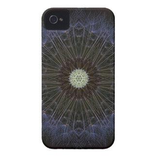 Goatsbeard Wildflower Kaleidoscope iPhone 4 Cases
