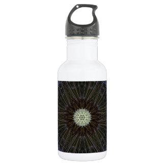 Goatsbeard Wildflower Kaleidoscope 18oz Water Bottle