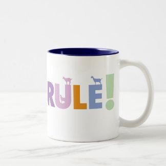 GOATSRULE.CR - Customized Two-Tone Coffee Mug