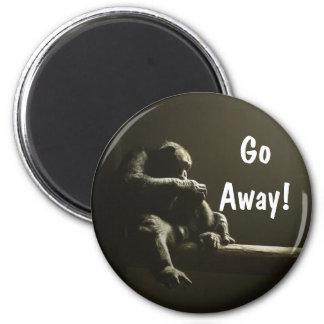 GoAway! 2 Inch Round Magnet
