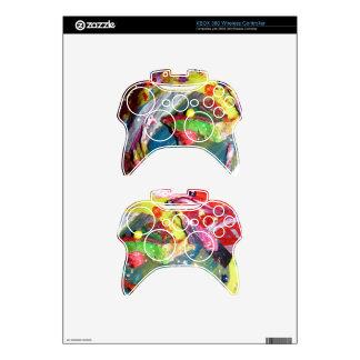 Gob Smacked  Acrylic Rainbow Xbox 360 Controller Decal