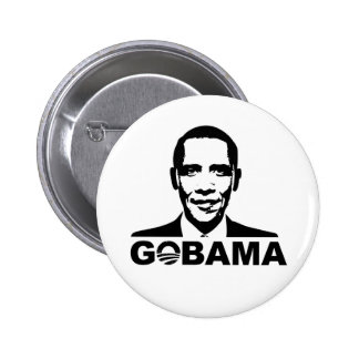 GOBAMA button badges
