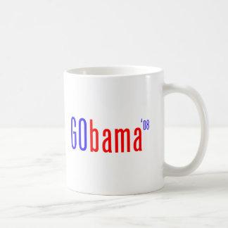 Gobama Classic White Coffee Mug