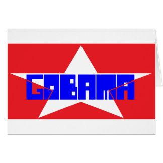 GOBAMA STAR CARD