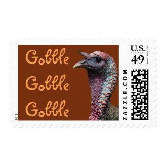 Gobble Gobble Gobble Stamps