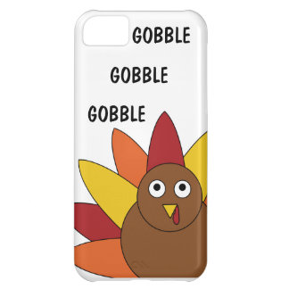 Gobble Gobble Gobble Thanksgiving Turkey iPhone 5c Cover For iPhone 5C