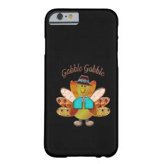 Gobble Gobble Patterned Pilgrim Turkey iPhone 6 Case