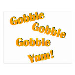 Gobble Gobble Post Cards