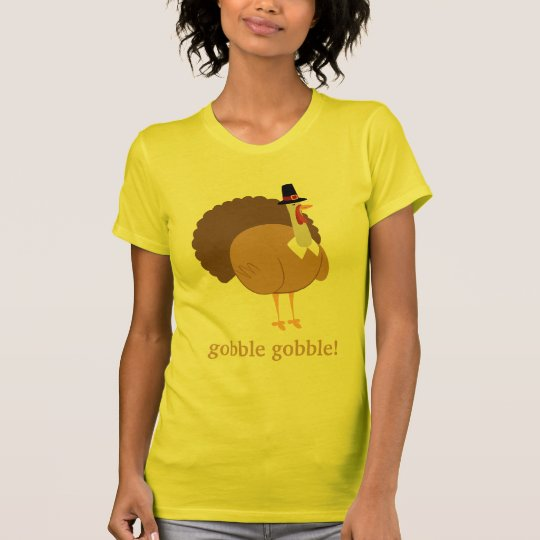 Gobble Gobble Silly Turkey T-Shirt