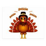 Gobble Gobble Turkey Post Cards