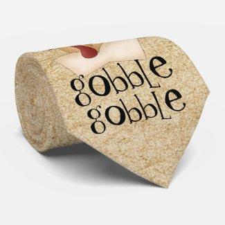 Gobble Gobble Turkey tie