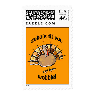 gobble postage stamps