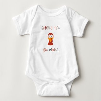 Gobble Til You Wobble Baby Bodysuit