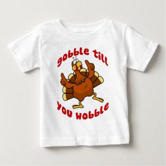 Gobble Till You Wobble Baby T-Shirt