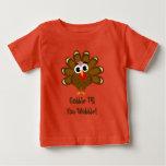 Gobble till you wobble Thanksgiving funny turkey Baby T-Shirt