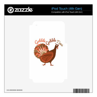 Gobble Time Decals For iPod Touch 4G