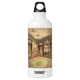 Gobelin Tapestries I, Linderhof Castle, Germany Aluminum Water Bottle