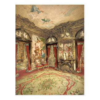 Gobelin Tapestries I, Linderhof Castle, Germany Postcard