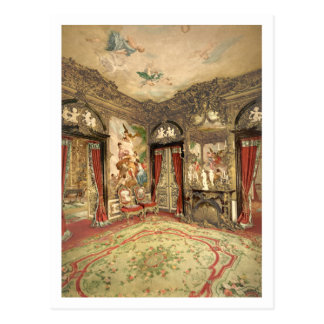 Gobelin Tapestries I, Linderhof Castle, Germany Postcard