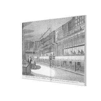 Gobelin workshops, from the 'Encyclopedia' by Deni Canvas Print