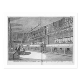 Gobelin workshops, from the 'Encyclopedia' by Deni Postcard