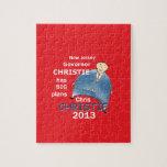 Gobernador 2013 de Christie Puzzle Con Fotos