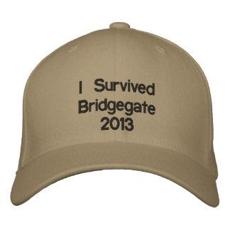 Gobernador Christie Bridgegate 2013 de New Jersey Gorra Bordada