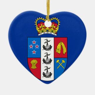 Gobernador-General de Nueva Zelanda, bandera de Nu Ornamentos De Reyes