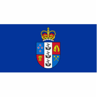 Gobernador-General de Nueva Zelanda, bandera de Nu Esculturas Fotograficas