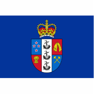 Gobernador-General de Nueva Zelanda, bandera de Nu Escultura Fotografica