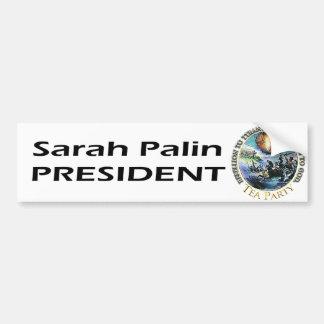 Gobernador Sarah Palin Bumperstickers Pegatina Para Auto